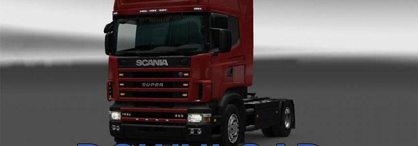 Scania L6 Open Pipe Sound reworked v1.1 [1.30.x]