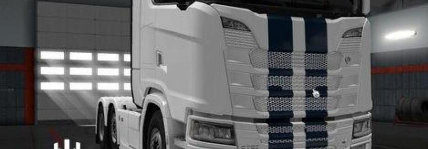 Scania Next Generation Removable Logo
