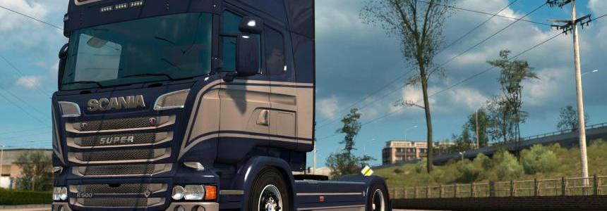 Scania RJL - Grace Paintjob by l1zzy
