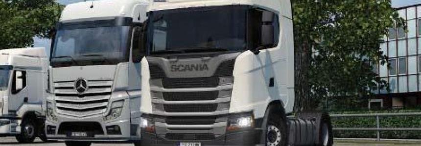 Scania R/S – Low Deck v1.0