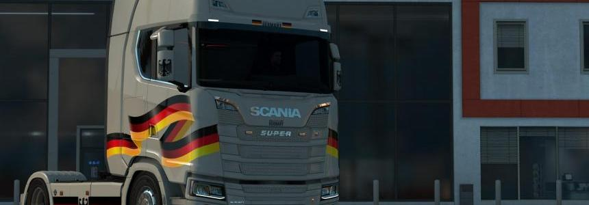 Scania S - Berlin Paintjob by l1zzy