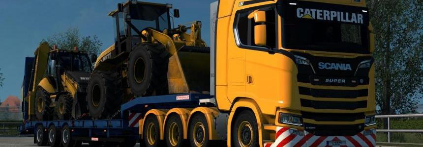 Scania S - Caterpillar Paintjob by l1zzy