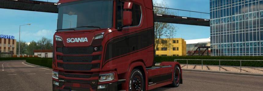 Scania S - Grace Paintjob v1.0.2 by l1zzy