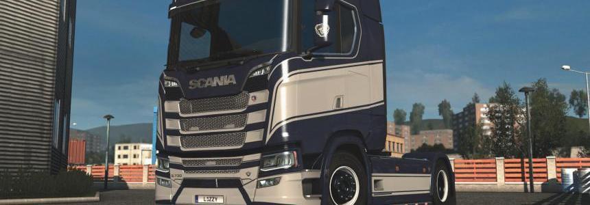 Scania S - Grace Paintjob by l1zzy