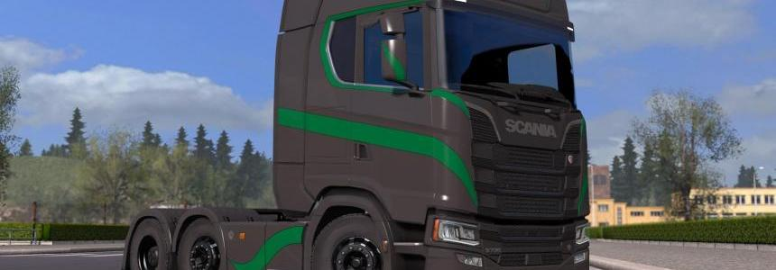Scania S High Roof Simple Skin v1.0.2