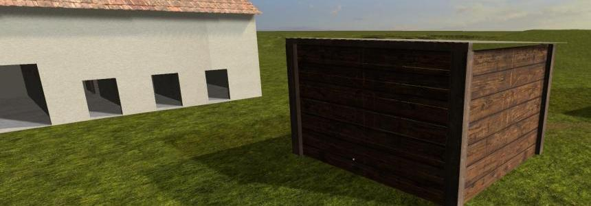 Shed for machines v1.0