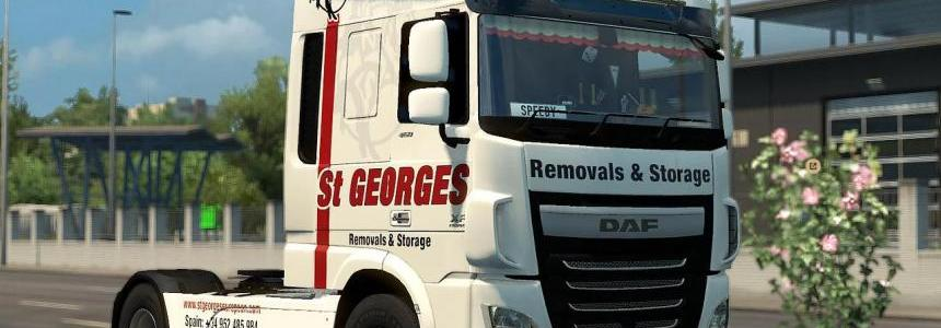 SKIN ST. Georges Removals FOR DAF EURO6 1.30.x