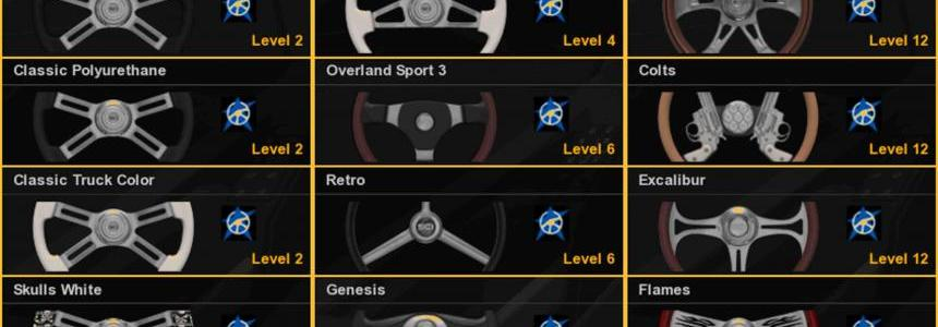 Steering Wheel ATS for ETS2 v1.0