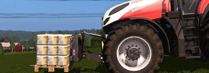 Three Point Linkage to Wheeled Loader Adapter v1.0.0.0