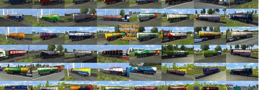 Trailers and Cargo Pack by Jazzycat v6.7