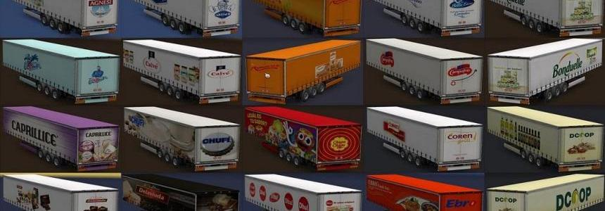 Variety of food trailers v1.0