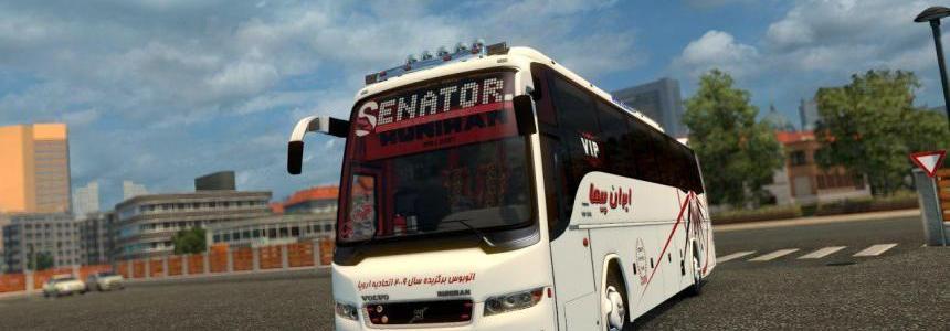 Volvo B9R-I Shift with Passengers v1.0