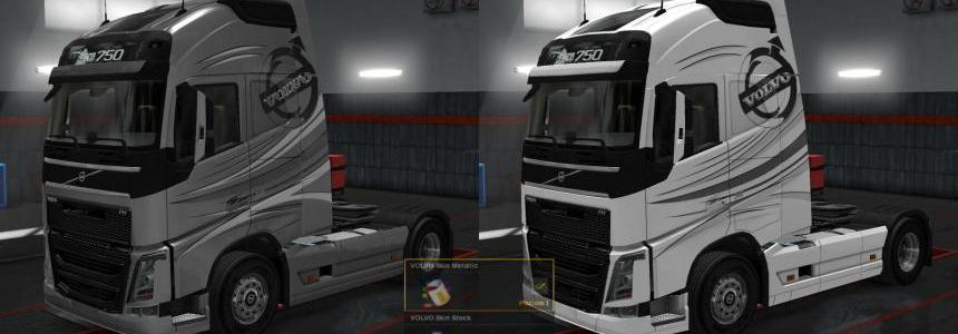 Volvo Skin FH4/13 - Stock/Metallic 1.30