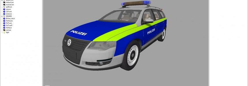 VW Passat B6 Polizei Beta v0.1