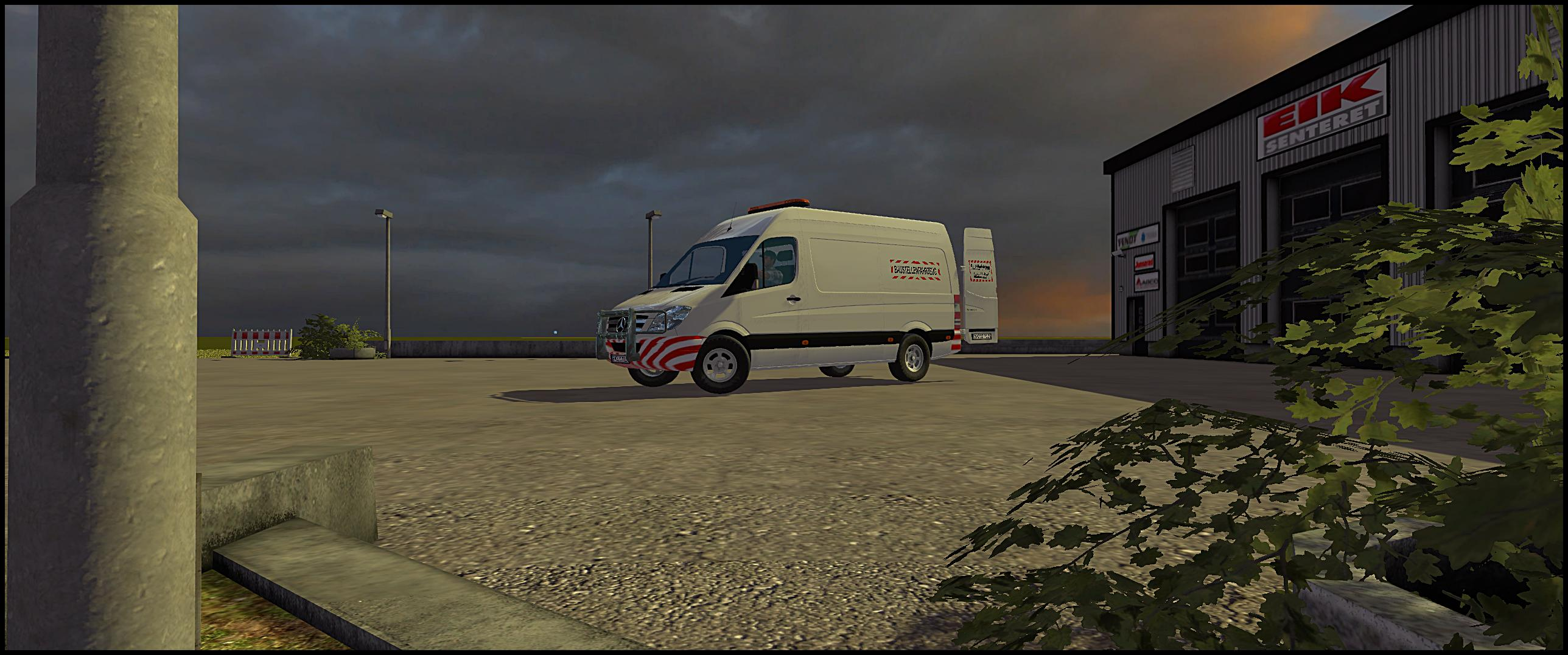 MB Sprinter 311 - 318 Transporter v1.0
