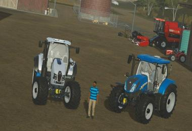 New Holland T6 160 v1.0