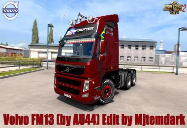 Volvo FM13 (by AU44) v1.0 Edit by Mjtemdark 1.30.x