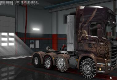 A large package of road, off-road and winter v1.7