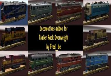 Addon for the Trailer Pack Overweight v1.30 for ATS v1.0