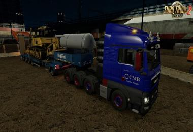 Addon Mod for MAN TGX Euro 6 v2.0 by MADster 1.30.x