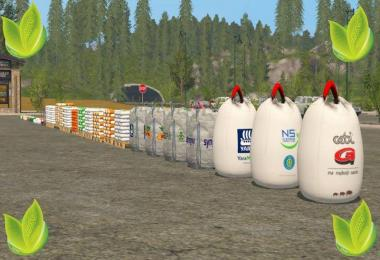 BAGS PACK Fertilizer, seed, pig food v1.0