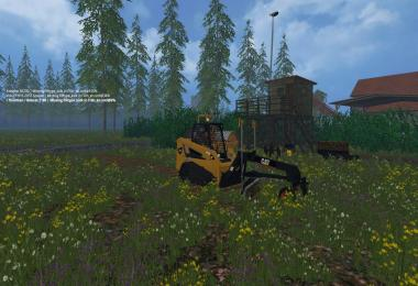 Cat Skidsteer Pack v1.0