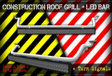 Construction Roof Grill + Led Bar 1.28.x - 1.30.x