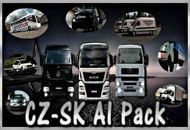 Czech and Slovak AI Traffic Package Fixed