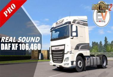 DAF XF 106.460 PACCAR MX13.340 E6 Sound v1.2