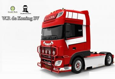 DAF XF Euro 6 W.P de Koning BV v1.0 1.30.x