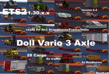 Doll Vario 3Achs with new backlight and in traffic v6.4