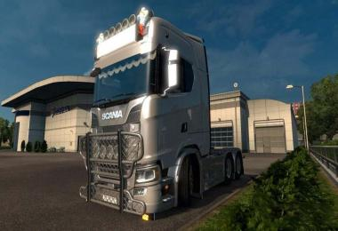Front Bullbar For Scania Next Generation 1.30