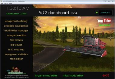 FS17 Dashboard v2.4