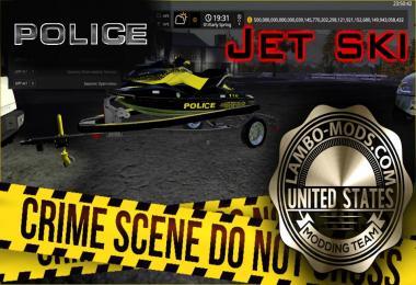 POLICE Jet ski Ski-doo GTR 215 v1.0