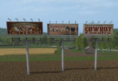 FS17 Country Billboards v1.0