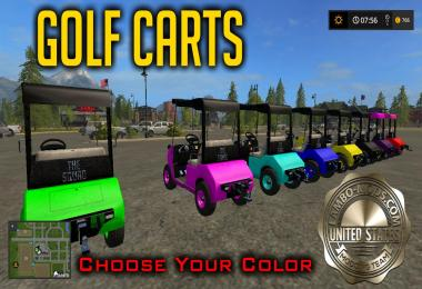 Golf Cart LARGE Color Selection v1.0