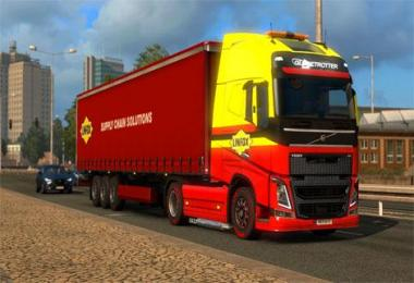 Linfox Volvo truck & Trailer byskyrim 1.30.x