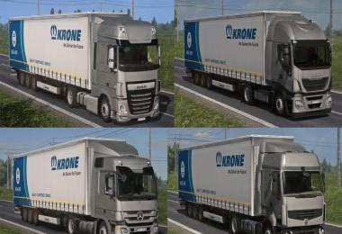 Lowdeck Addons for Schumi's Trucks by Sogard3 v1.3