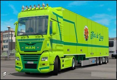 MAN TGX Euro 6 Kees de Lange Skin v2.0