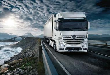 Mercedes Actros OM470 Engine Sound v1.5