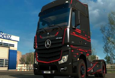 Mercedes Benz Actros 2014 - Accessio Paintjob by l1zzy
