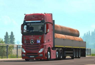 Mercedes-Benz Actros MP4 Sound v1.0