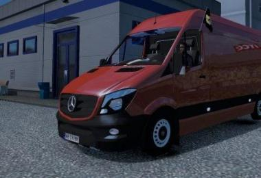 Mercedes Sprinter 2K16 - Only for mod developers v1.0