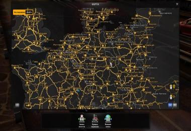 RusMap and Poland Rebuilding road connection 1.30