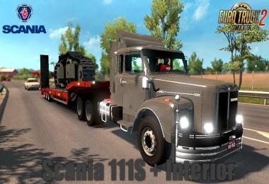 Scania 111S + Interior v1.0 update 1.30.x