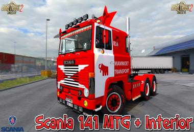 Scania 141 MTG + Interior v1.0