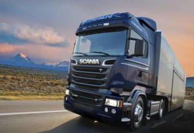 Scania Ghost V8 Crackle Version