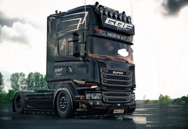 Scania Ghost V8 Open Pipe Crackle v1.5