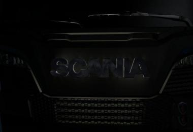 Scania Next Gen S&R illuminated Logo