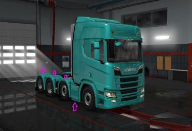 Scania RS 2016 Tunning v1.0